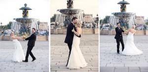 Couple in Paris photo session