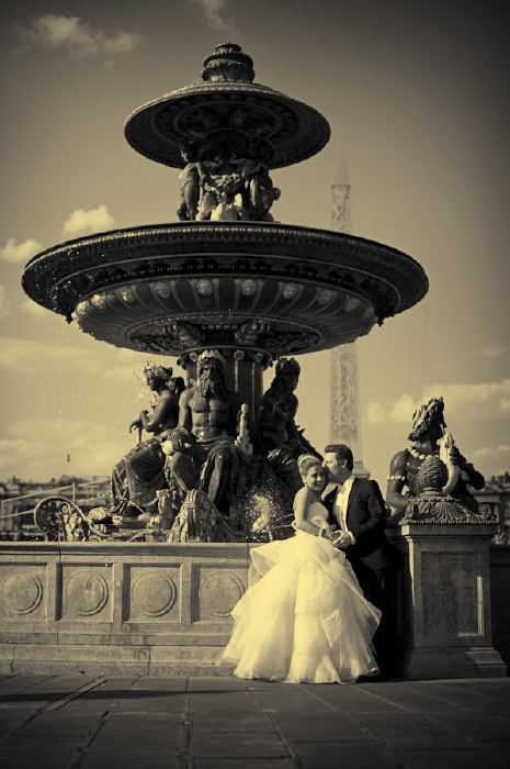 Paris couple wedding photography