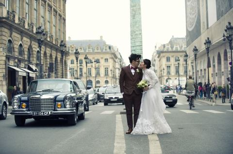 Destination wedding Paris photographer