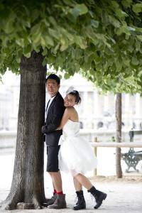 Private honeymoon photographer paris
