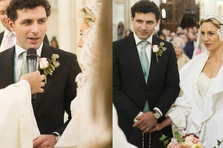 Eglise saint clotilde Paris wedding photographer