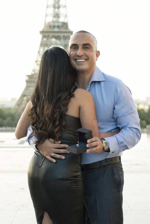 Paris secret proposal