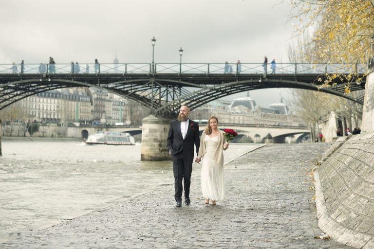 paris winter elopement