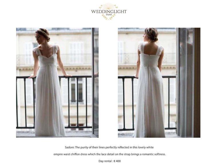 Paris rent a wedding dress
