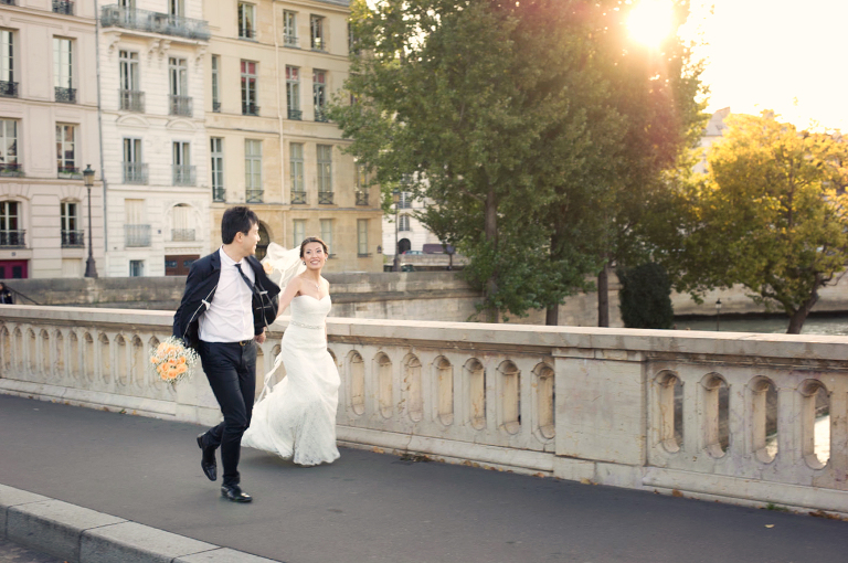 Marriage photography paris
